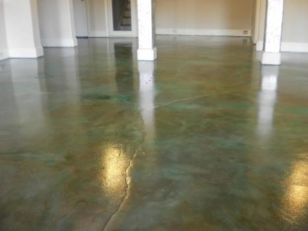 Eco Stain Concrete Flooring In Charlotte Nc